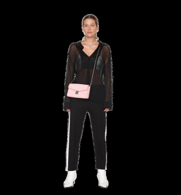 MCM Millie Flap Crossbody-Tasche aus Studded Outline Leder MYZ9SME16QB001 AlternateView6