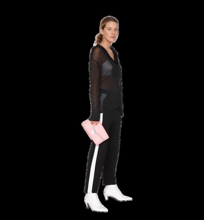 MCM Millie Flap Crossbody-Tasche aus Studded Outline Leder MYZ9SME16QB001 AlternateView7
