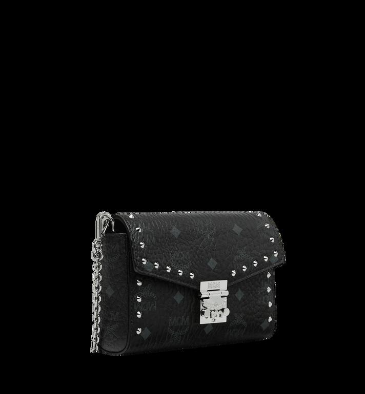 MCM Millie Flap Crossbody in Studded Outline Visetos Black MYZ9SME25BK001 Alternate View 2