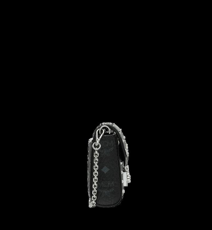 MCM Millie Flap Crossbody in Studded Outline Visetos Black MYZ9SME25BK001 Alternate View 3