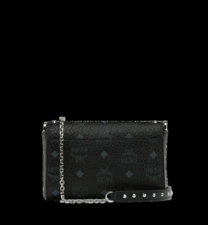 MCM Millie Flap Crossbody in Studded Outline Visetos Black MYZ9SME25BK001 Alternate View 4