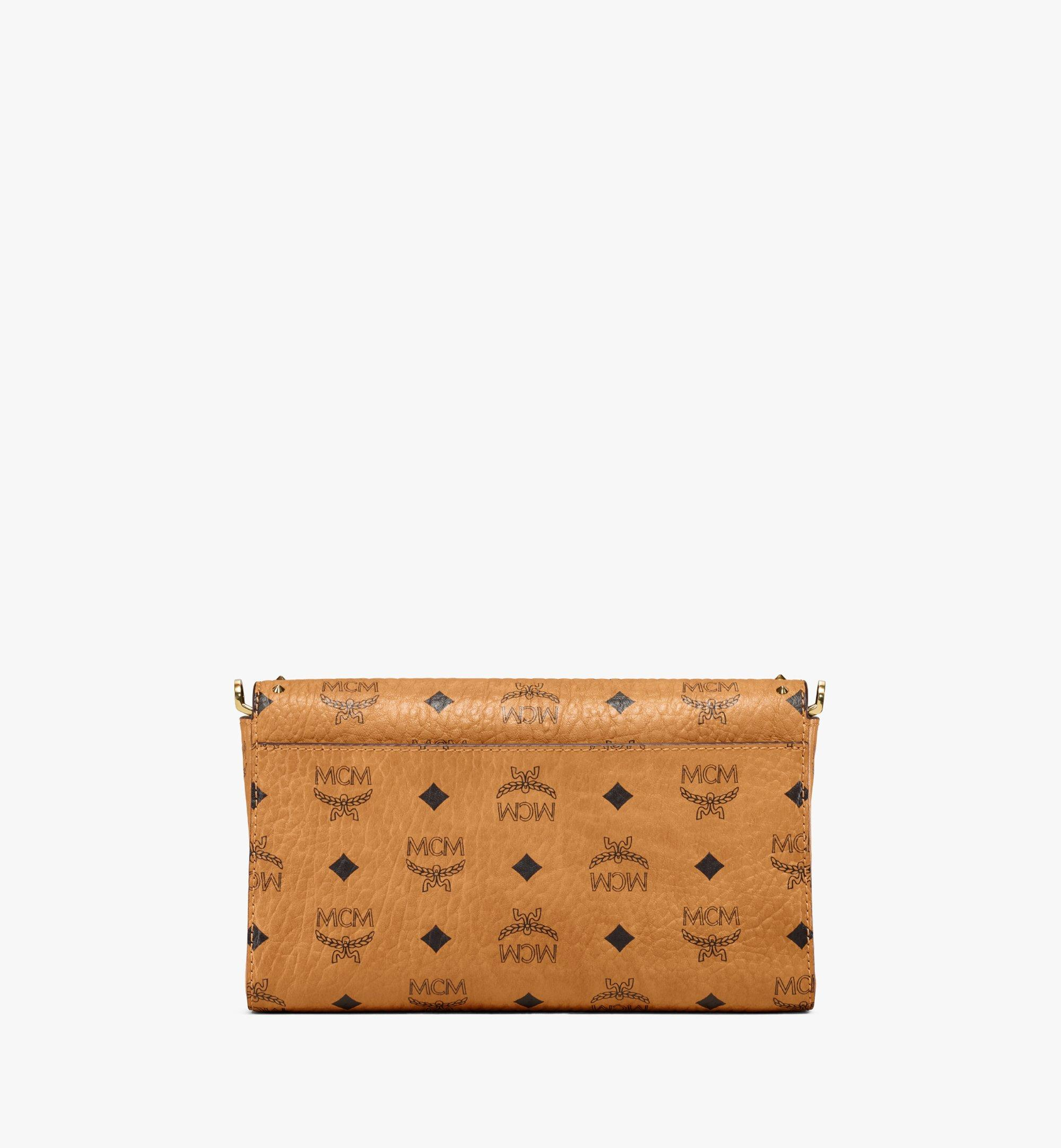 MCM Millie Flap Crossbody in Studded Outline Visetos Cognac MYZ9SME26CO001 Alternate View 4