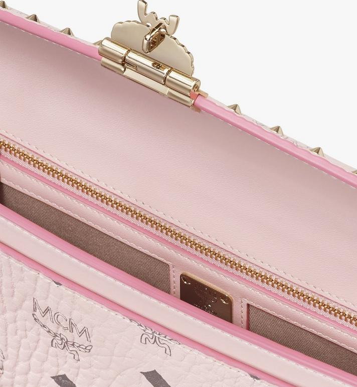 MCM Millie Crossbody in Studded Visetos Pink MYZ9SME26QH001 Alternate View 3
