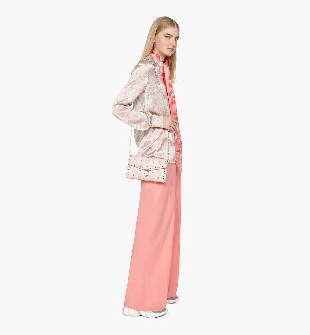 MCM Millie Crossbody in Studded Visetos Pink MYZ9SME26QH001 Alternate View 3
