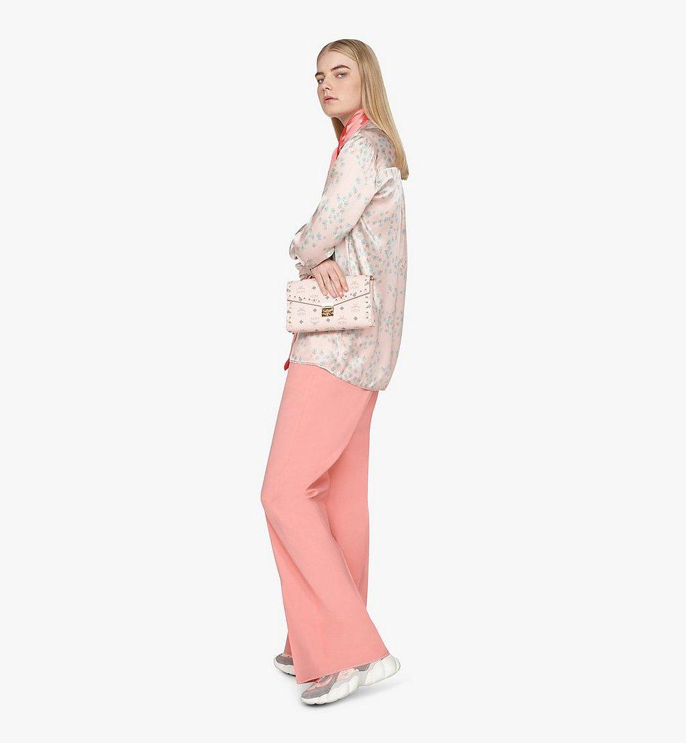 MCM Millie Crossbody in Studded Visetos Pink MYZ9SME26QH001 Alternate View 5