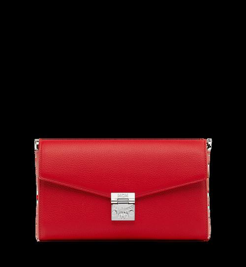 Milla Crossbody-Tasche mit Überschlag aus Park Avenue Leder