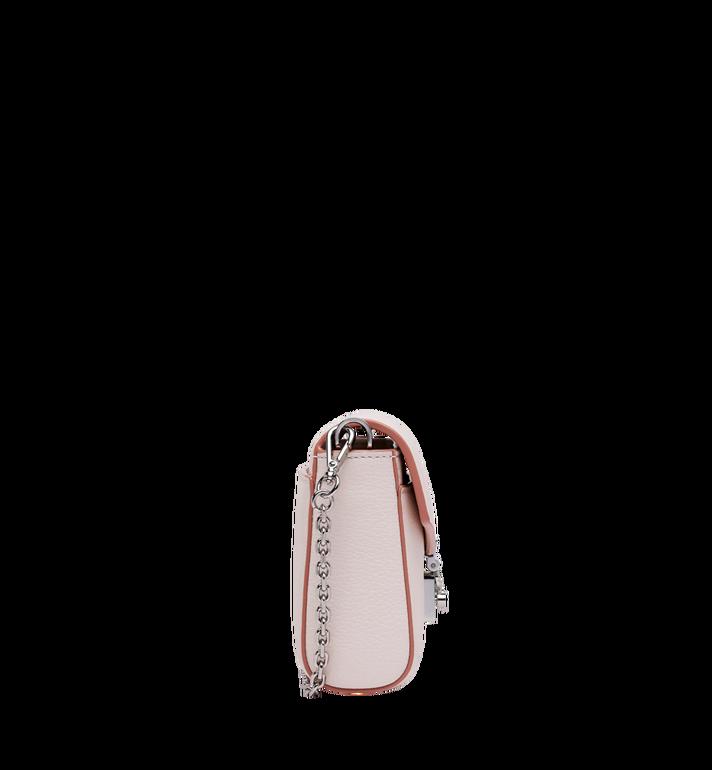 MCM Milla Crossbody-Tasche mit Überschlag aus Park Avenue Leder Alternate View 3