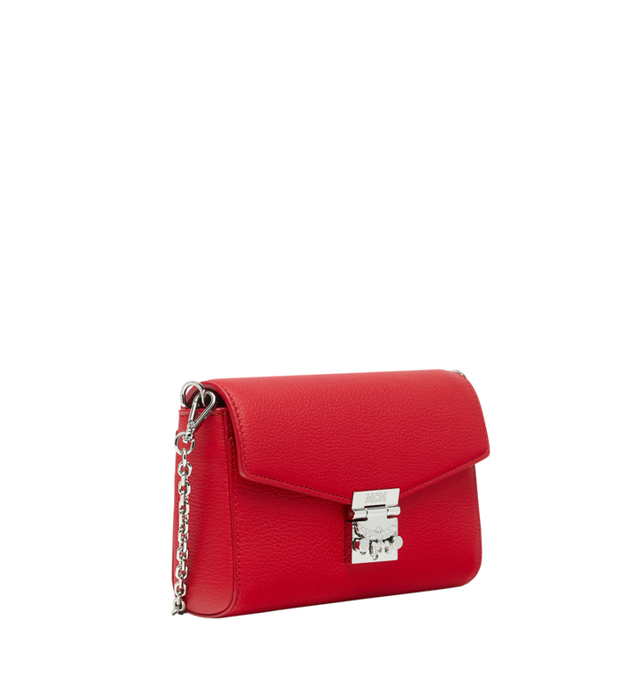MCM Millie Flap Crossbody in Grained Leather Red MYZ9SME54RU001 Alternate View 2