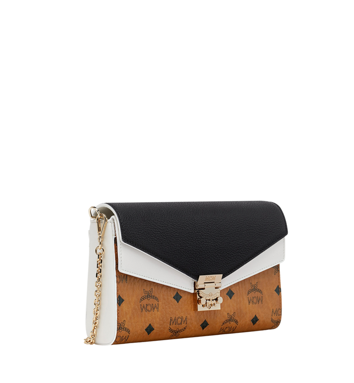 MCM Millie Flap Crossbody in Visetos Leather Block AlternateView2