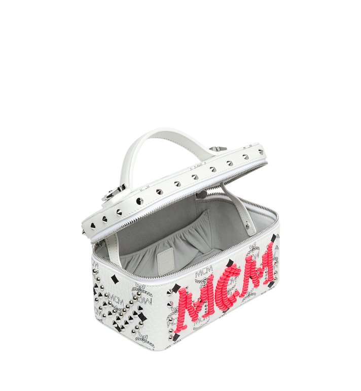 MCM Rockstar Vanity Case in Neon Stud Visetos Alternate View 5