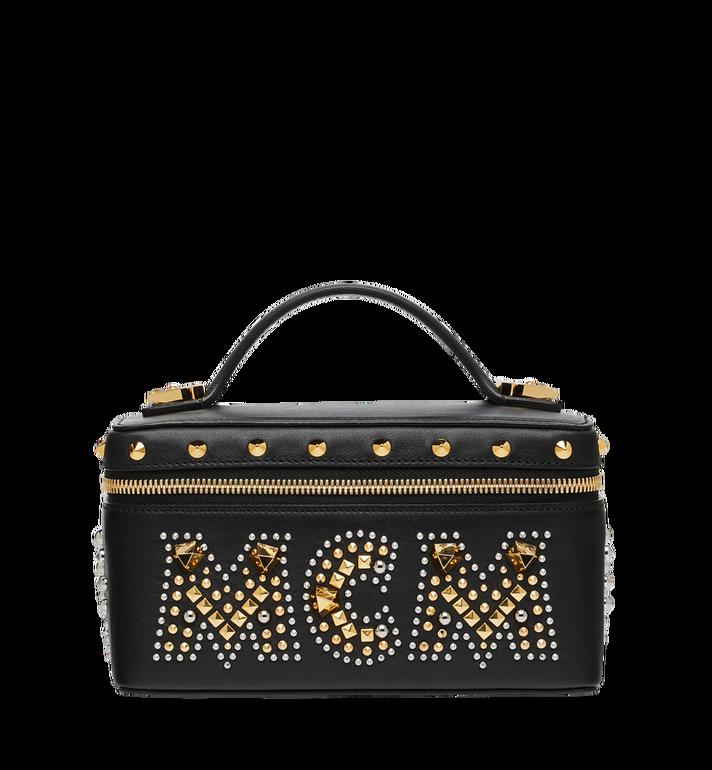 MCM Rockstar Vanity Case in Radial Stud Leather AlternateView