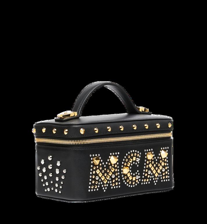 MCM Rockstar Vanity Case in Radial Stud Leather Alternate View 2