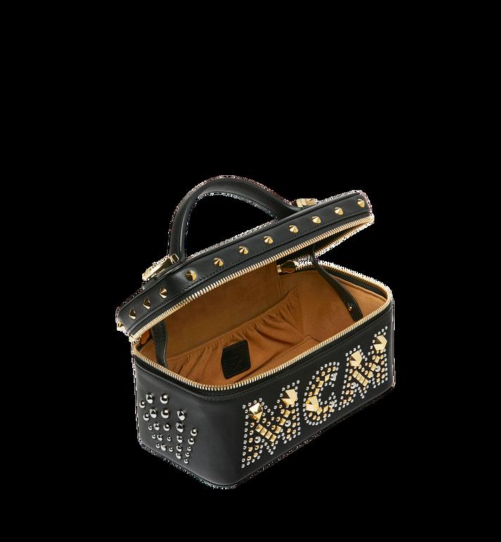 MCM Rockstar Vanity Case in Radial Stud Leather Alternate View 5