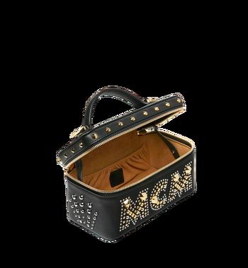 MCM Rockstar Vanity Case in Radial Stud Leather AlternateView5