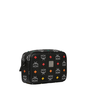 MCM Camera Bag in Skyoptic Stud Visetos Black MYZ9SSV51BA001 Alternate View 2
