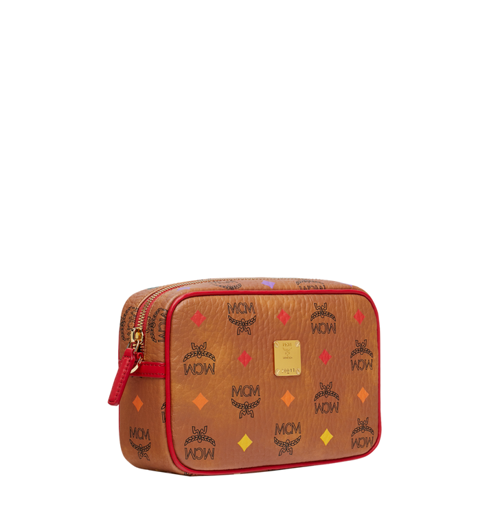 MCM Camera Bag in Skyoptic Visetos Cognac MYZ9SSV61CA001 Alternate View 2