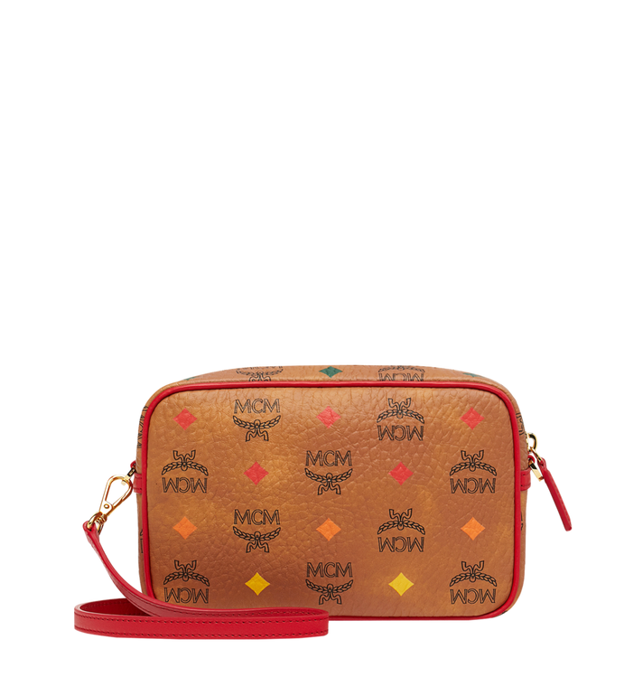 MCM Camera Bag in Skyoptic Visetos Cognac MYZ9SSV61CA001 Alternate View 4