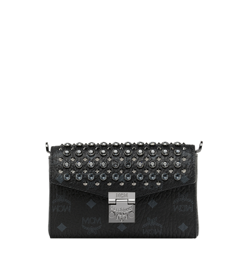 Diamond Visetos Flap Crossbody