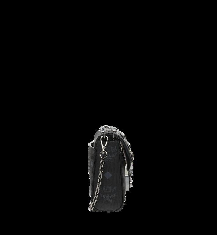 MCM Diamond Visetos Flap Crossbody-Tasche MYZ9SVI12BK001 AlternateView3