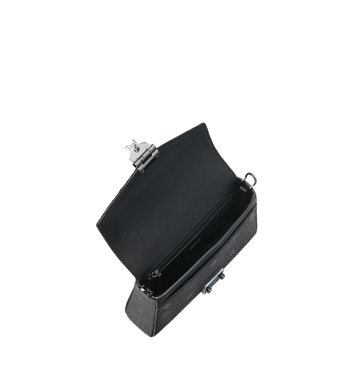 MCM Diamond Visetos Flap Crossbody-Tasche MYZ9SVI12BK001 AlternateView5