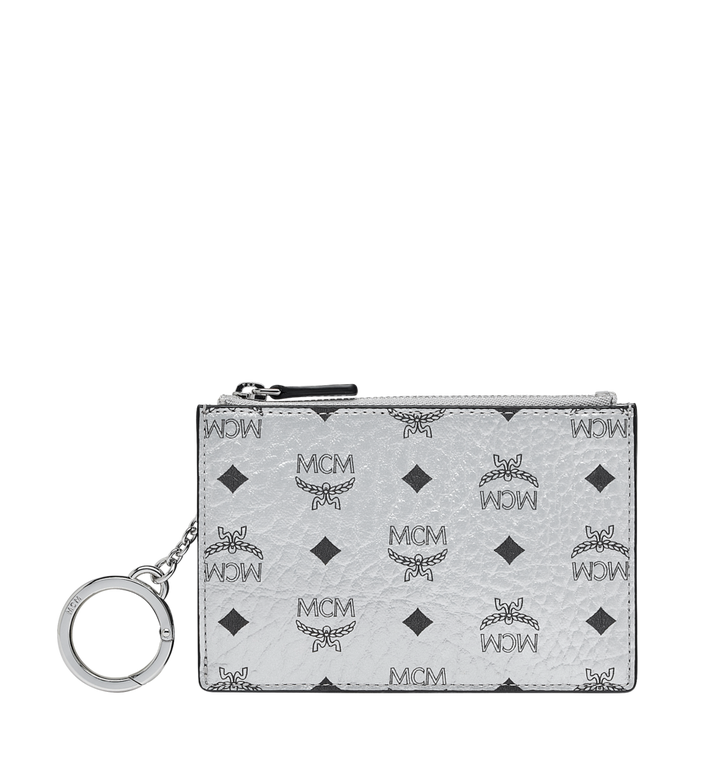 MCM Key Pouch in Visetos Original Alternate View 1