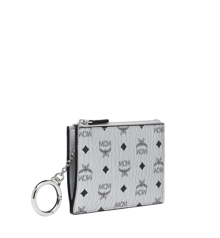 MCM Key Pouch in Visetos Original Alternate View 2