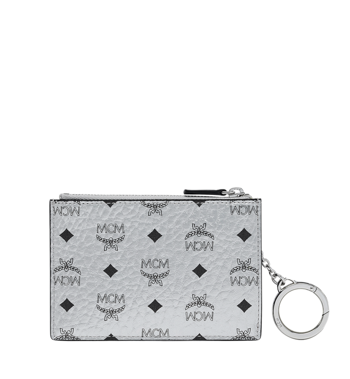 MCM Key Pouch in Visetos Original Alternate View 3