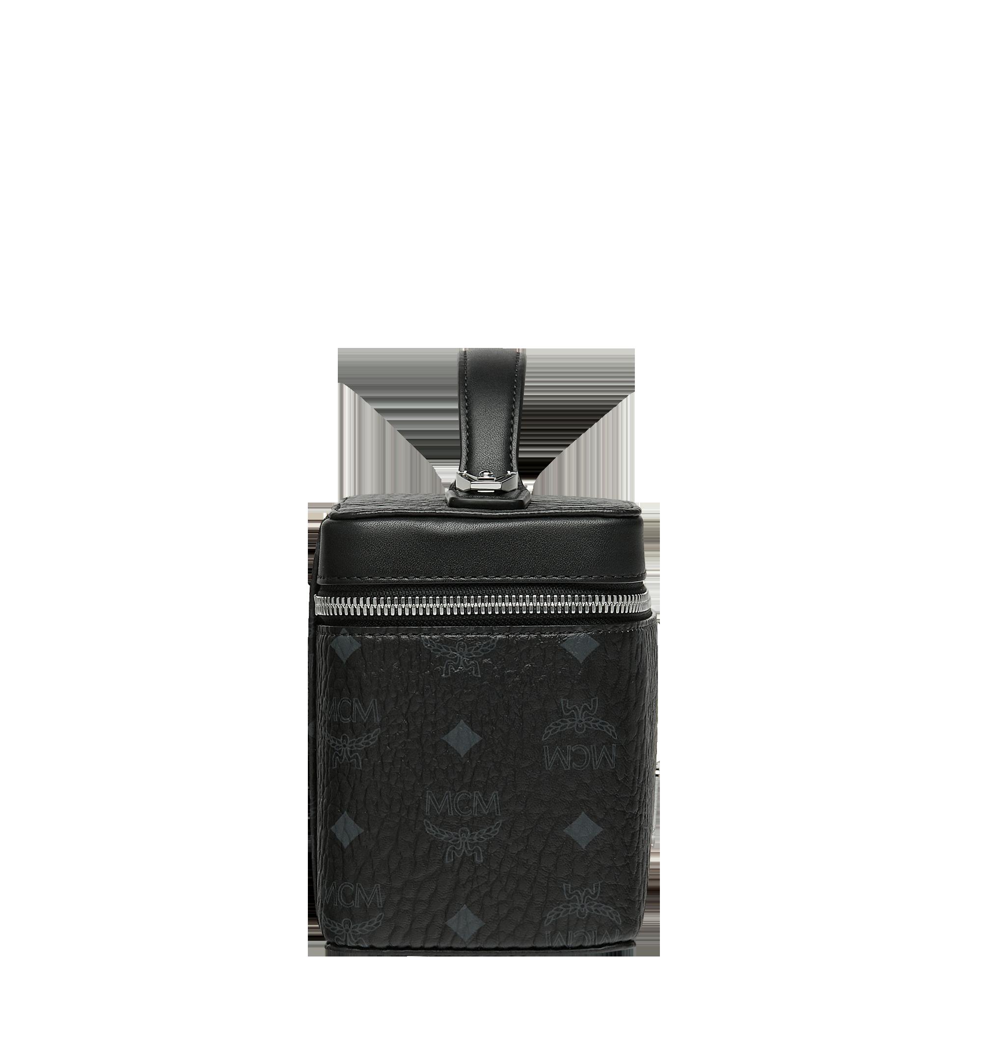 MCM Rockstar Vanity Case in Visetos Original Black MYZ9SVI95BK001 Alternate View 3