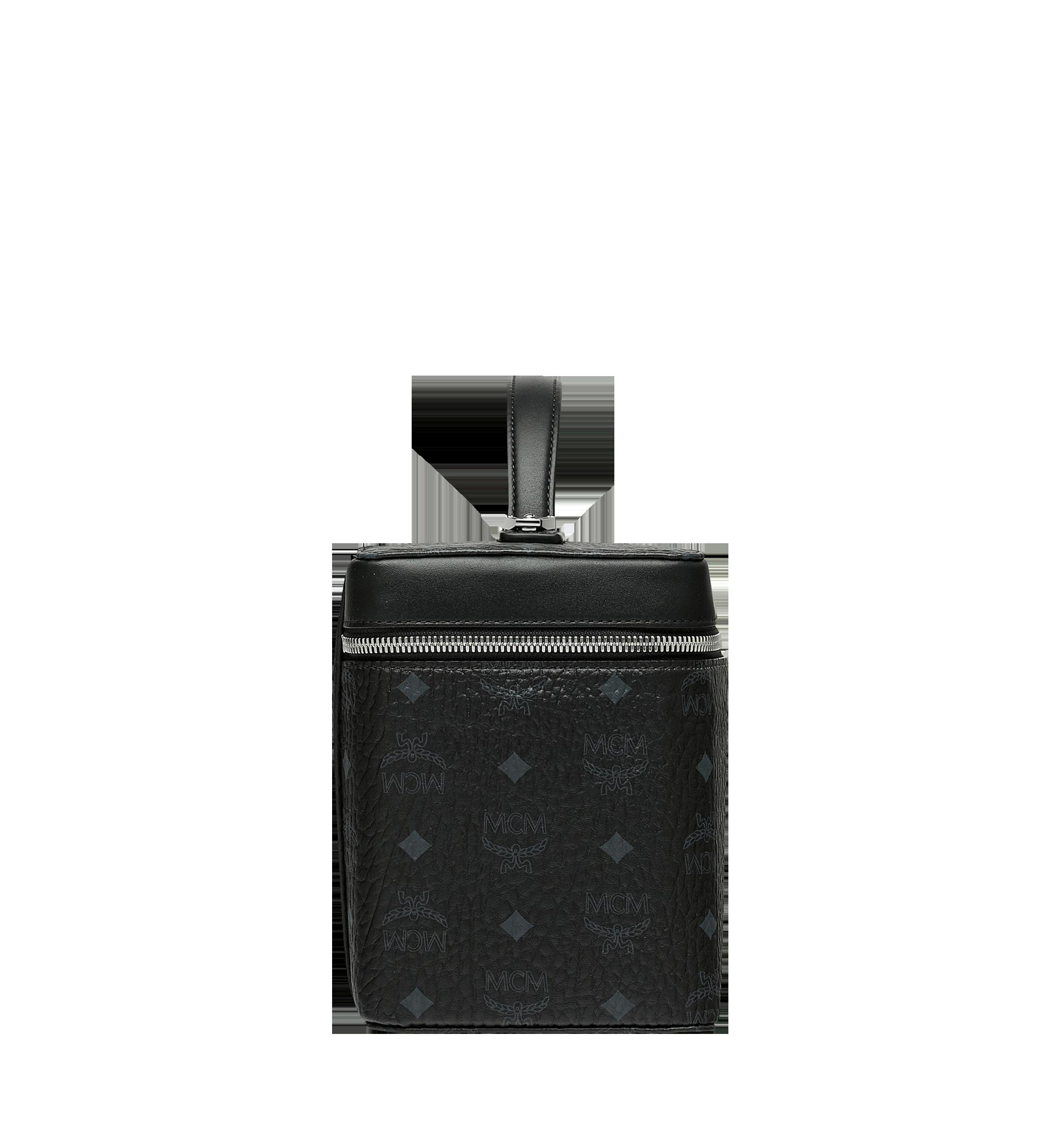 MCM Rockstar Vanity Case in Visetos Original Black MYZ9SVI96BK001 Alternate View 2