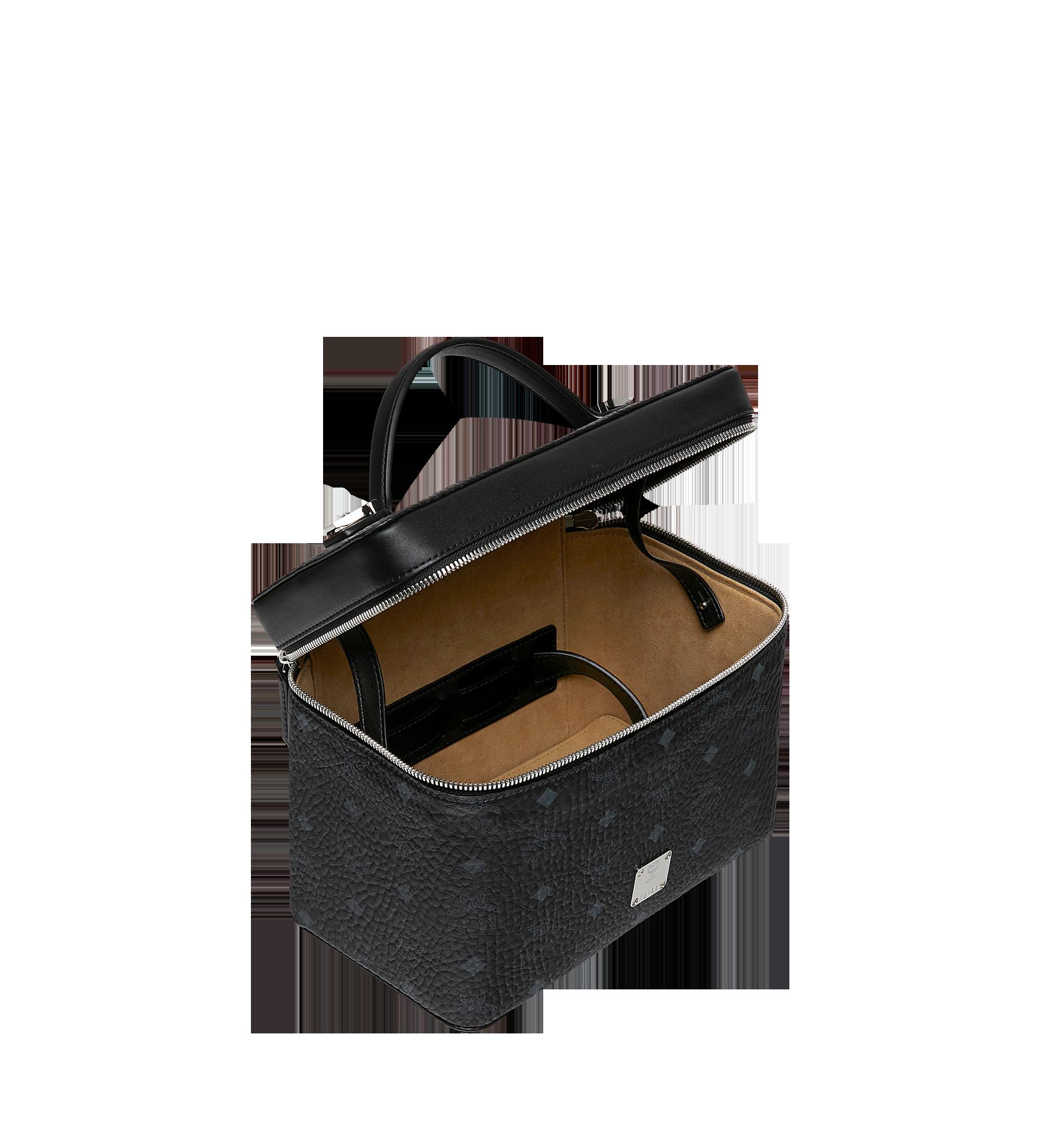 MCM Rockstar Vanity Case in Visetos Original Black MYZ9SVI96BK001 Alternate View 4