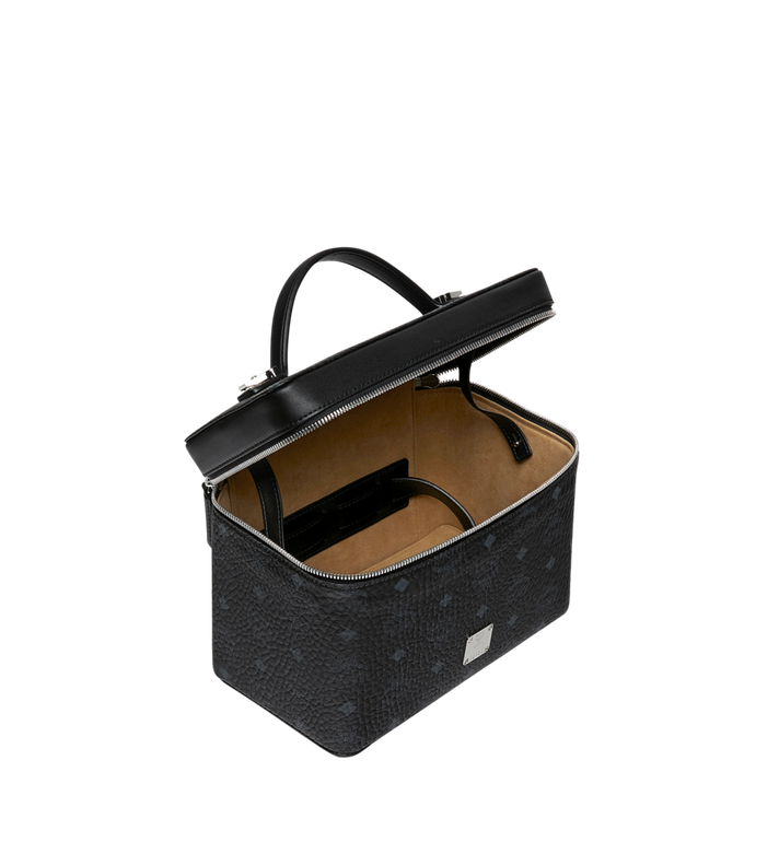 MCM Rockstar Vanity Case in Visetos Original Black MYZ9SVI96BK001 Alternate View 5