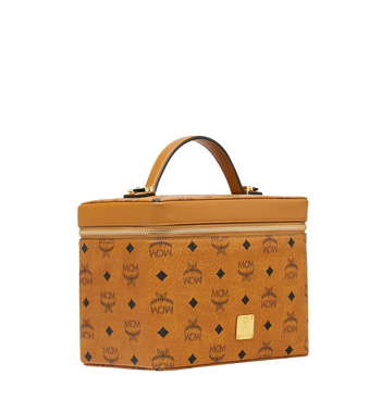 MCM Kosmetikkoffer Rockstar in Visetos Original Cognac MYZ9SVI96CO001 Alternate View 2