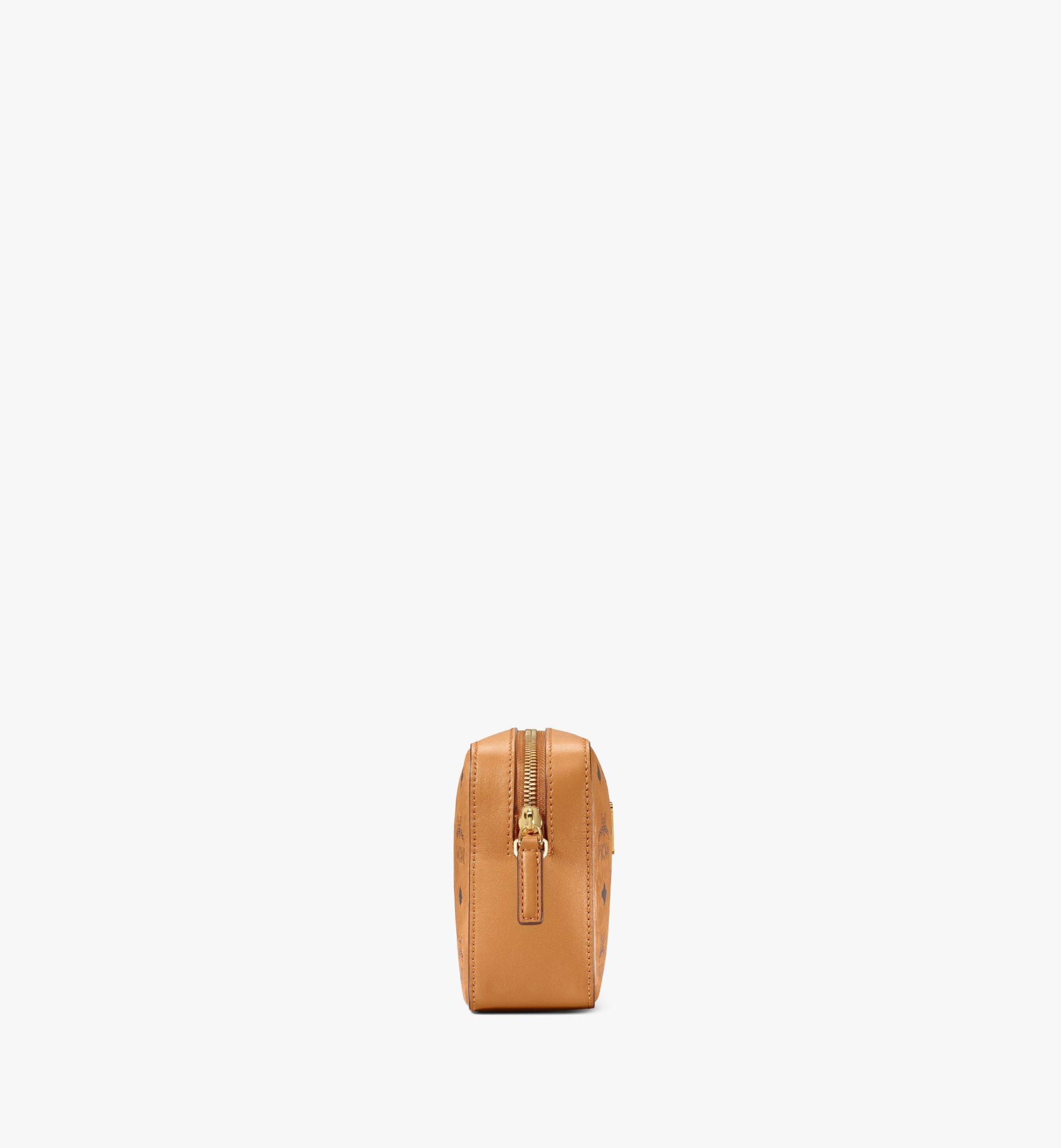 One Size Kameratasche in Visetos Original Cognac | MCM® DE