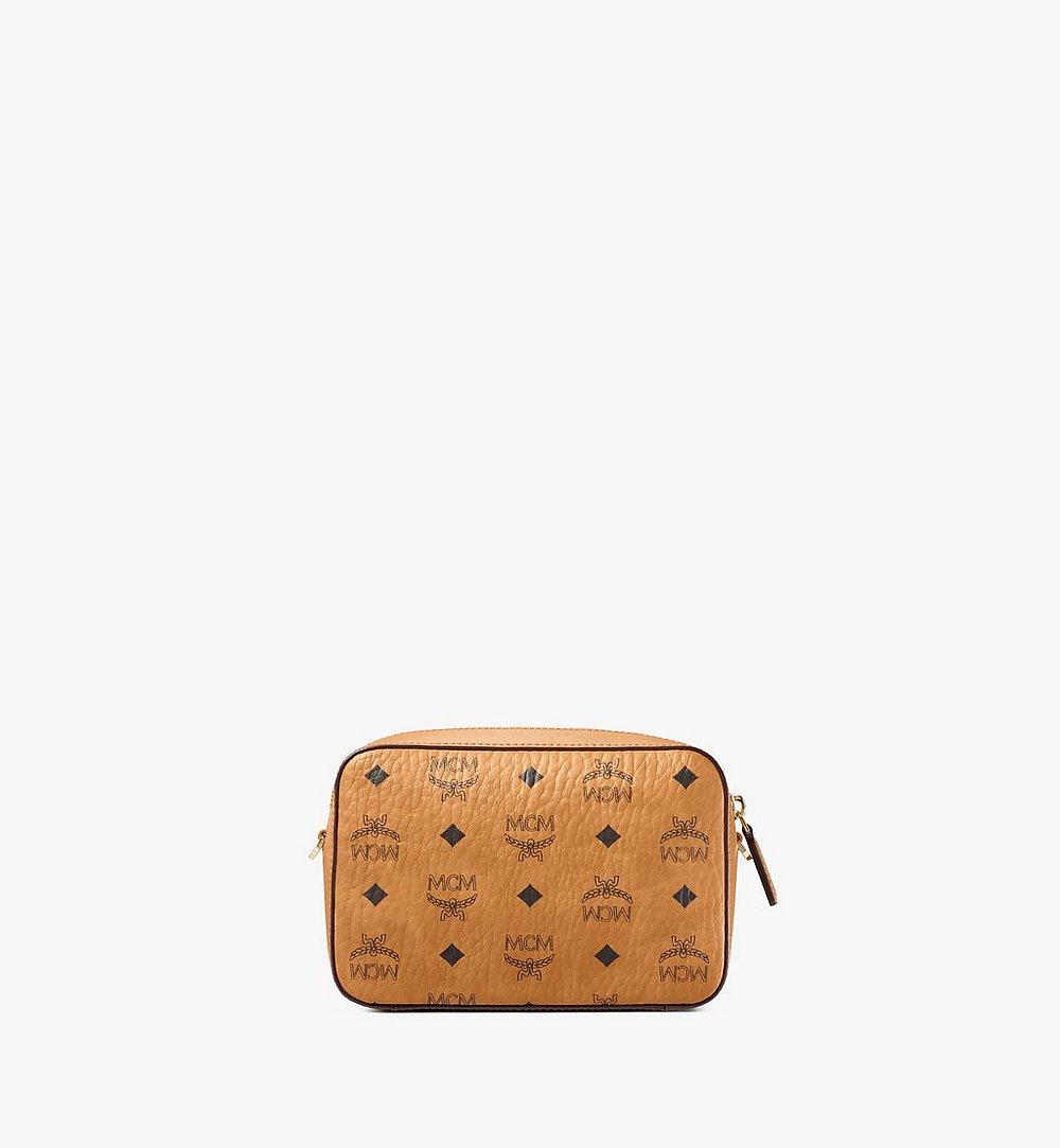 MCM Crossbody-Tasche in Visetos Cognac MYZ9SVI97CO001 Noch mehr sehen 3