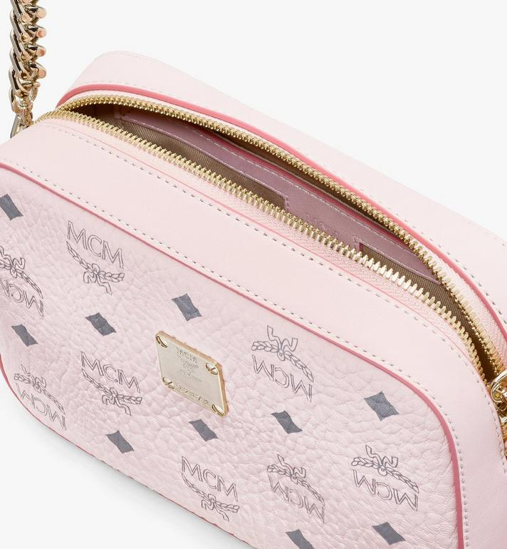 MCM Camera Bag in Visetos Pink MYZ9SVI97QH001 Alternate View 4