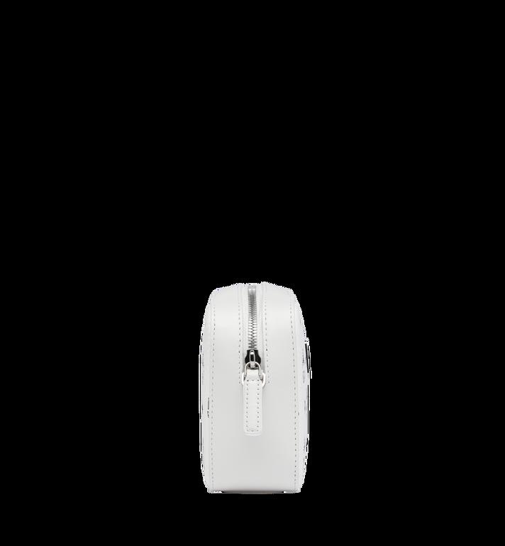MCM Camera Bag in Visetos Original White MYZ9SVI97WT001 Alternate View 3