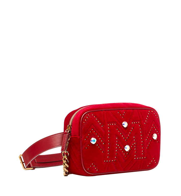 MCM Sac appareil photo en Velvet Crystal Studs Alternate View 2
