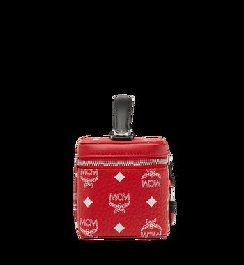MCM Rockstar Vanity Case in White Logo Visetos MYZ9SWA01AV001 AlternateView3