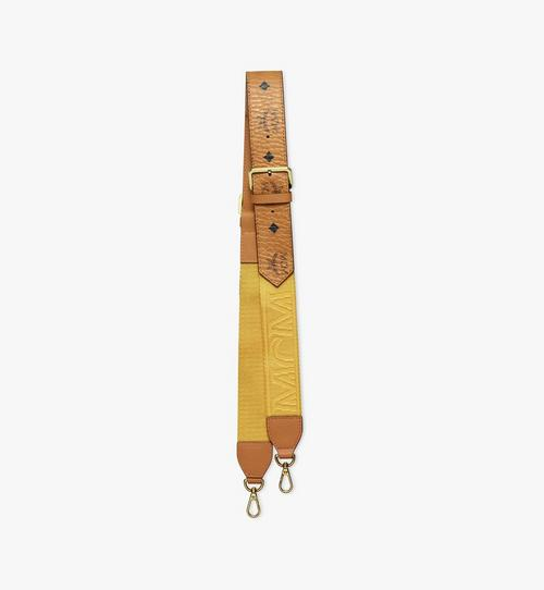 Half-Logo Shoulder Strap in Visetos Webbing Mix