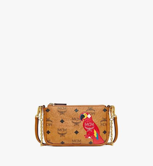 MCM Zoo Parrot Crossbody in Visetos