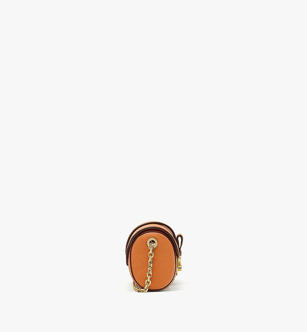 MCM Tracy Zylinderförmige Tasche in Visetos Cognac MYZBSXT01CO001 Noch mehr sehen 1