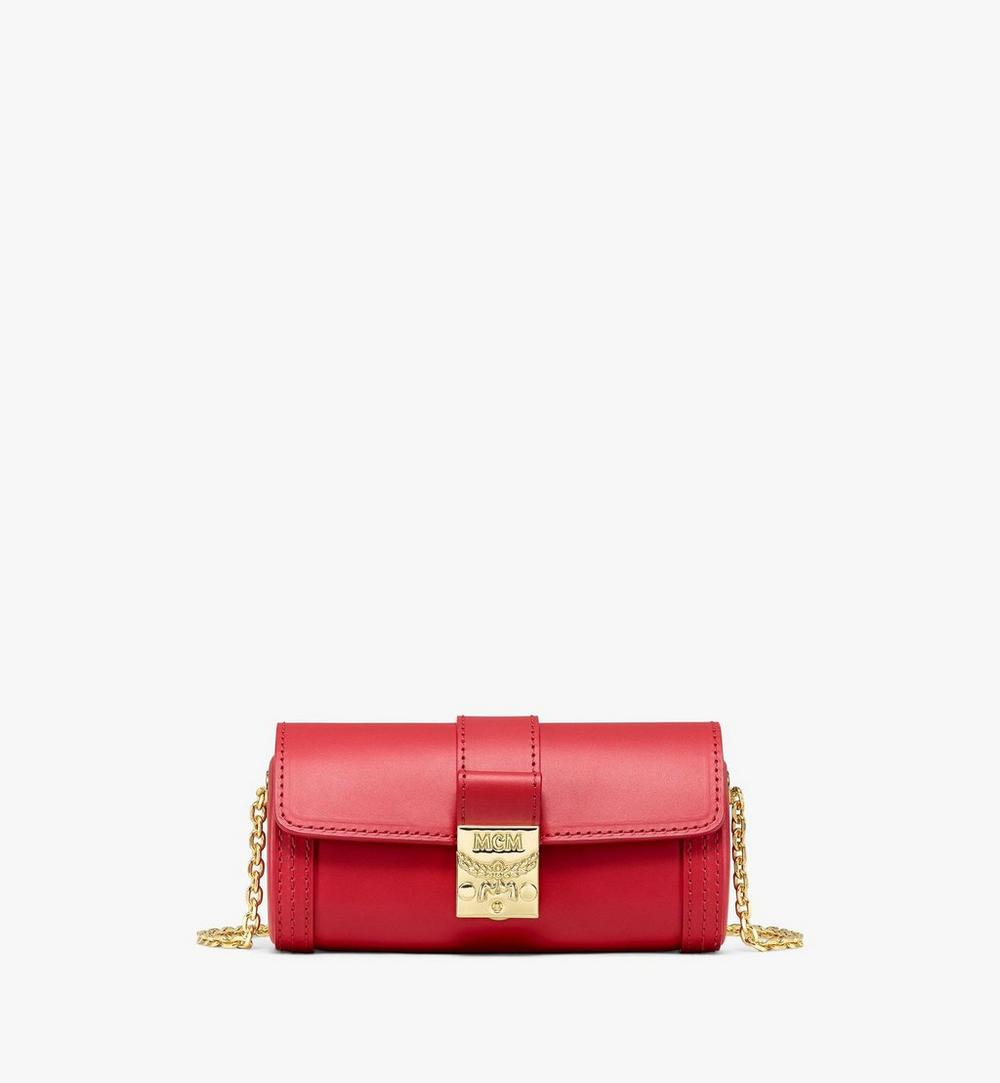 Tracy Cylinder Bag in Vachetta Leather 1