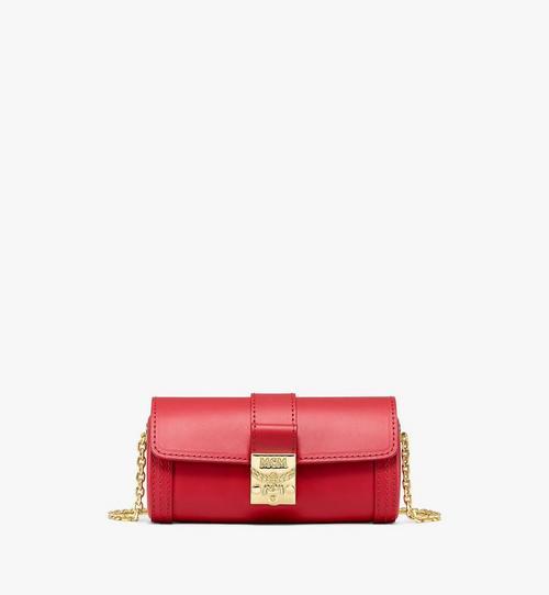 Zylinderförmige Tasche Tracy aus Vachetta-Leder
