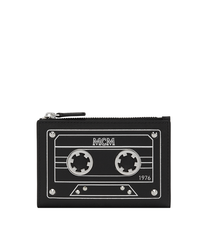 MCM Coin Card Case in MCM Cassette Alternate View