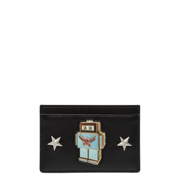 MCM Robot Card Case in Nappa Leather MZA8SRO26BK001 AlternateView