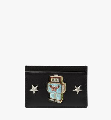 Robot Card Case in Nappa Leather