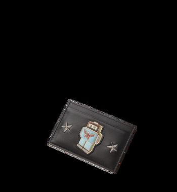 MCM Robot Card Case in Nappa Leather MZA8SRO26BK001 AlternateView4
