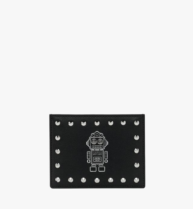 Porte-cartes Roboter en cuir Nappa
