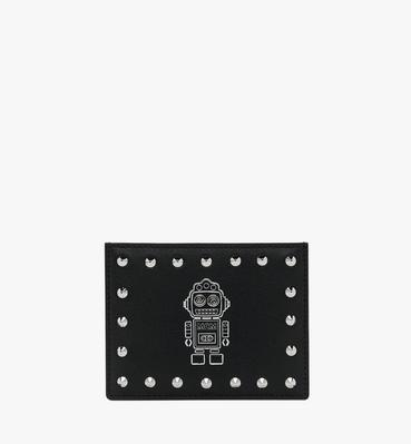 Roboter Card Case in Nappa Leather