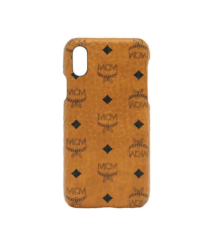 MCM iPhone X Case in Visetos Original Alternate View 1
